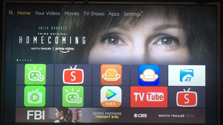 新玩具,Amazon Fire TV 4K ,一个美国电视盒子。