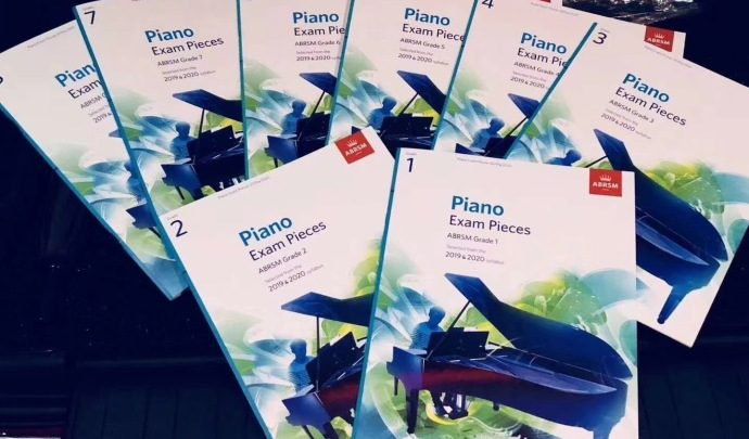 ABRSM 2019-2020 Piano Exam Pieces Grade 1-8 Audio MP3