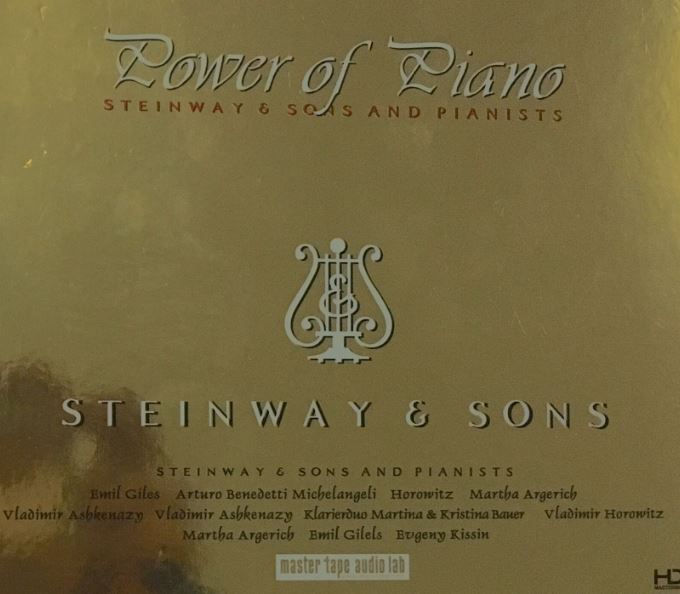 【Piano Classical】【POWER OF PIANO STEINWAY and SONS】