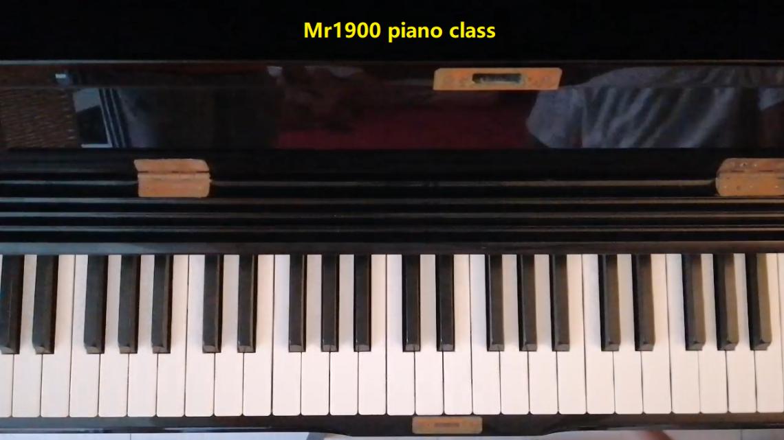 Mr1900直播琴课(试播)0818录像